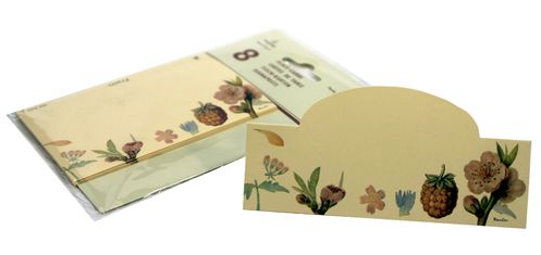 Fruits & Flowers Place Cards