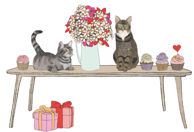 Cupcake Party Greeting Card