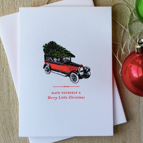 Vintage Car Holiday Boxed Set
