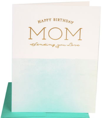 Birthday Mom Love Greeting Card