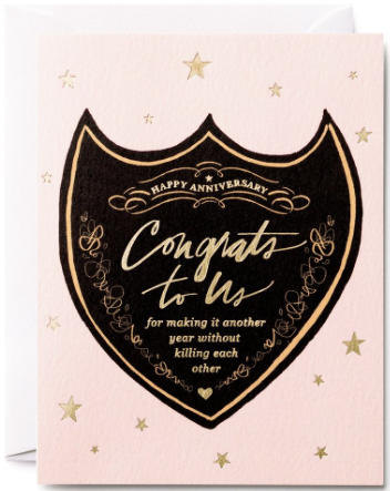 Congrats to Us Greeting Card