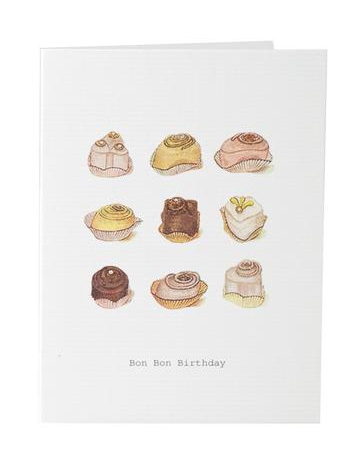 Bon Bon Birthday Greeting Card