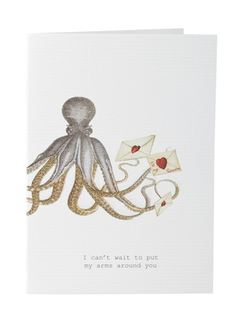 Can't Wait (Arms Around You) Greeting Card