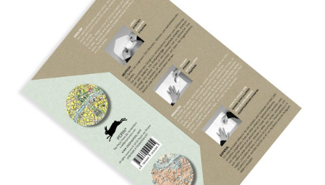 Historical Maps Labels, Stickers & Tapes Book