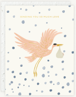 Sending You So Much Love Greeting Card