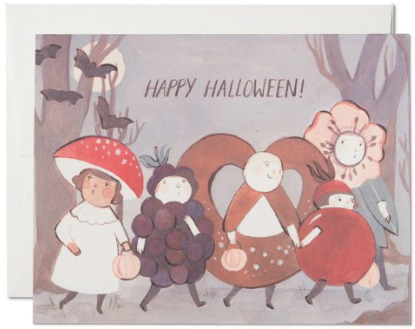 Halloween Kids Greeting Card