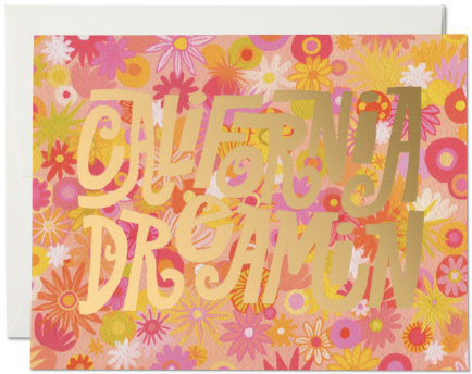 California Dreamin' Greeting Card