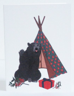 Bearing Gifts Greeting Card