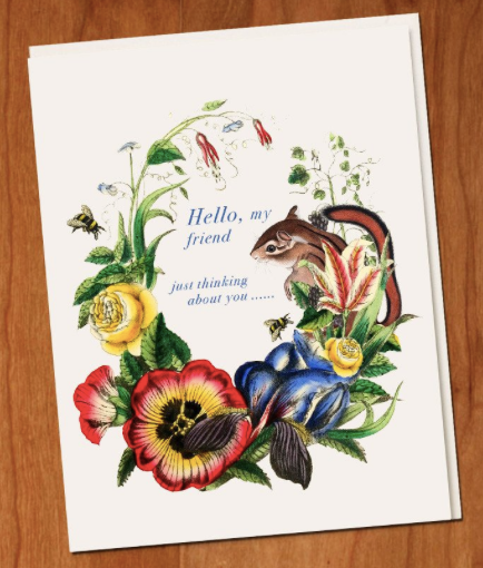 Hello My Friend Greeting Card
