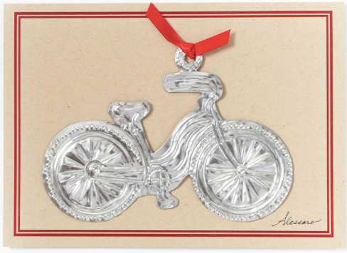 Bicycle Ornament Card