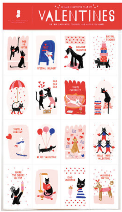 Meow & Woof Set of 32 Class Valentine's - NOW 40% OFF