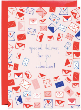 Sealed With a Heart Valentine Greeting Card