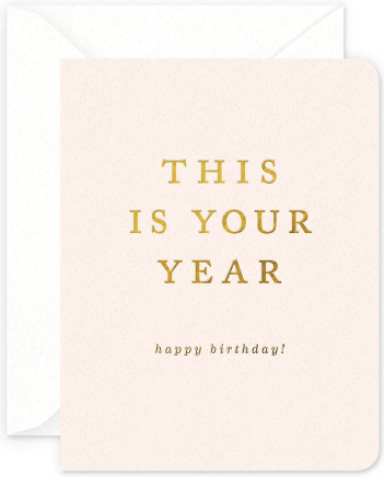 Your Year Greeting Card