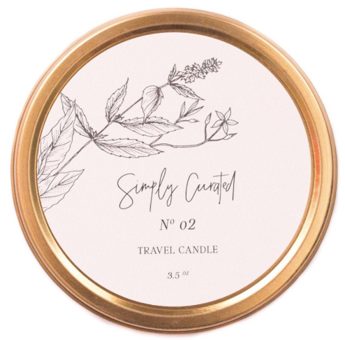 Botanical Collection No. 02 Travel Candle