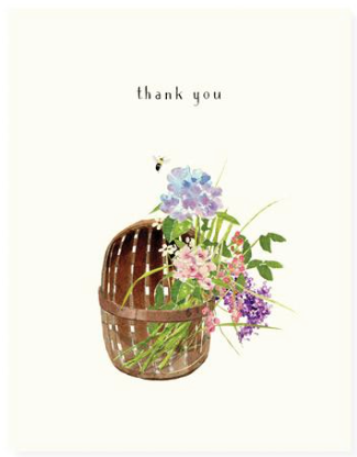 Basketful Greeting Card
