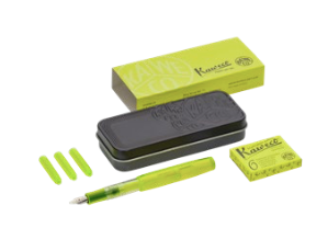 Kaweco Sport Yellow Glow Marker Highlighter Set