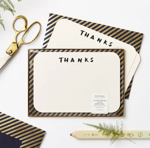 Luxe Thanks Notecards