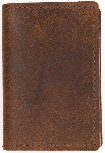 Refillable Pocket Size Leather Notebook