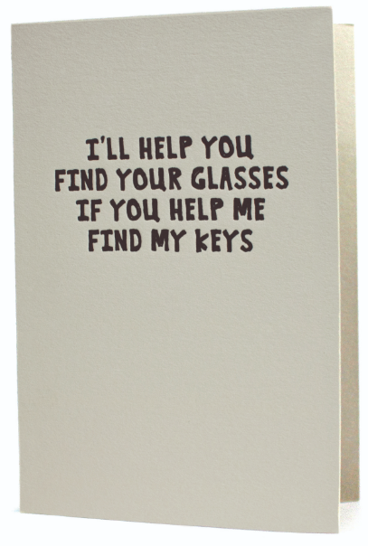 I'll Help You Greeting Card