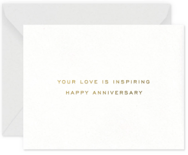 Inspiring Anniversary Greeting Card