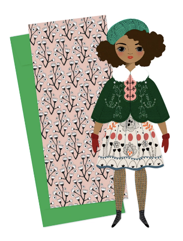 Mailable Paper Doll - Noelle