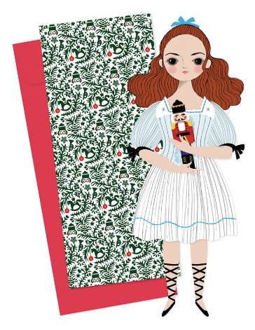 Mailable Paper Doll - Clara