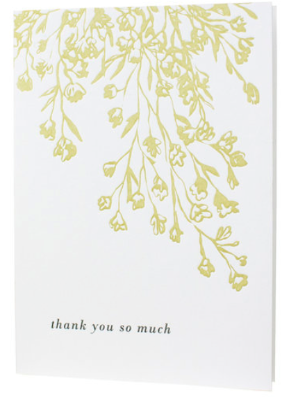 Floral Thank You So Much Boxed Set