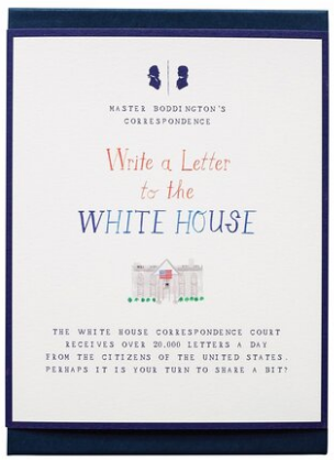 Write To The White House Kit - NOW 40% OFF