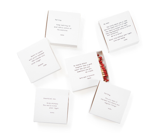 Quote Matchbox - 6 styles available