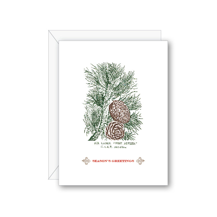 Season's Greeting Greeting Card