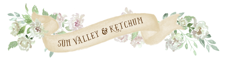 Sun Valley Ketchum Banner White Flowers downloadable artwork