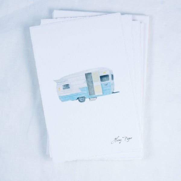Vintage Trailer Greeting Card and Notecard Sets