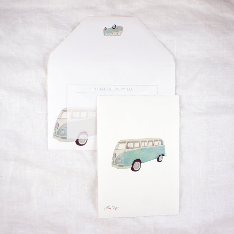 VW Bus Greeting Card and Notecard Sets