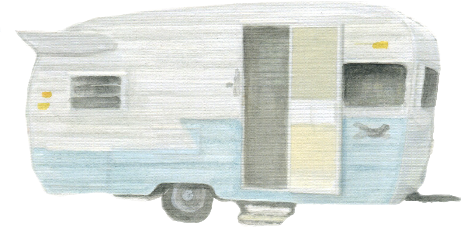 Vintage Trailer downloadable artwork