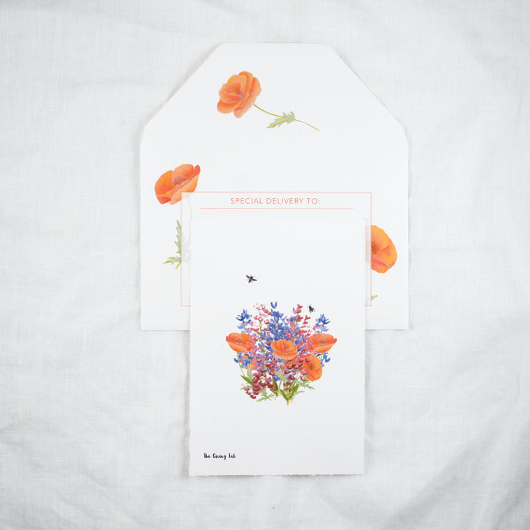 Wildflowers Greeting Card and Notecard Sets