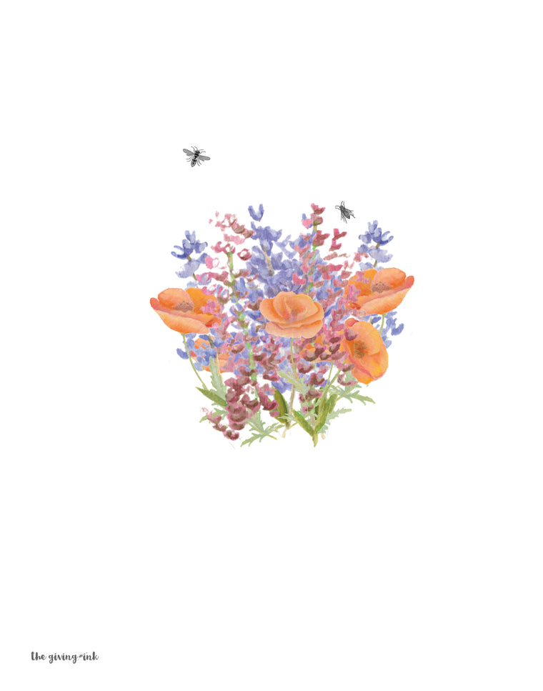 Wildflowers Downloadable Print
