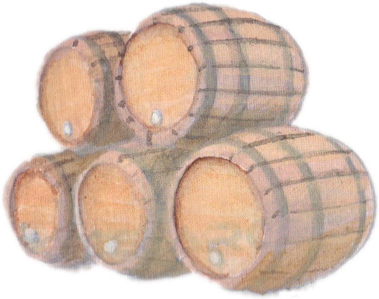 Wine Barrels downloadable artwork