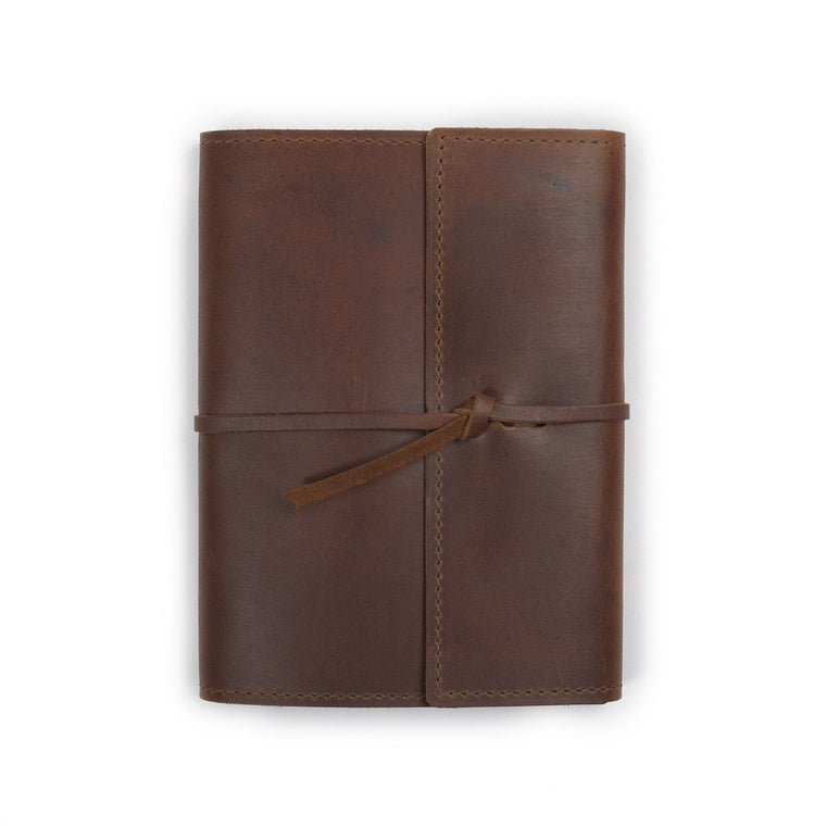 Refillable Leather Journal 6 3/4