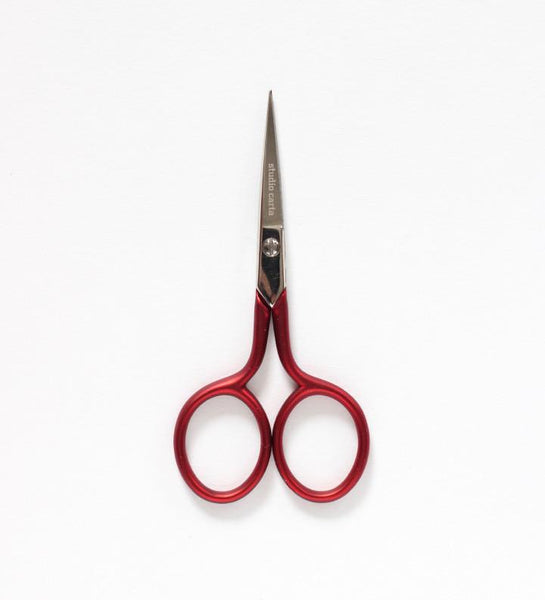 Scarlet Red Handle Scissors