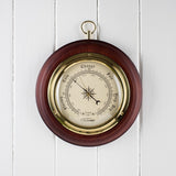 Traditional Wooden Barometer CM4202