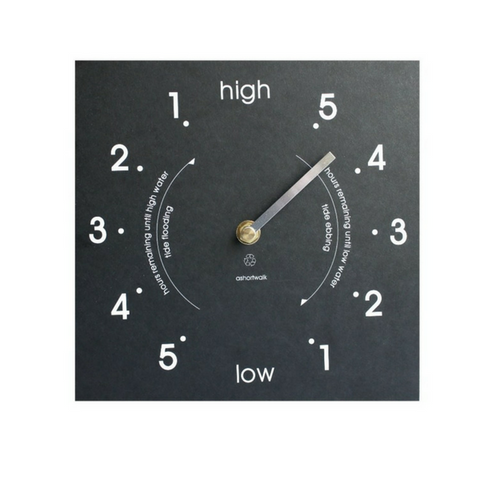 Recycled High/Low Tide Clock ASW-TIC