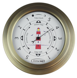 Red Lighthouse Tide Clock CM4520