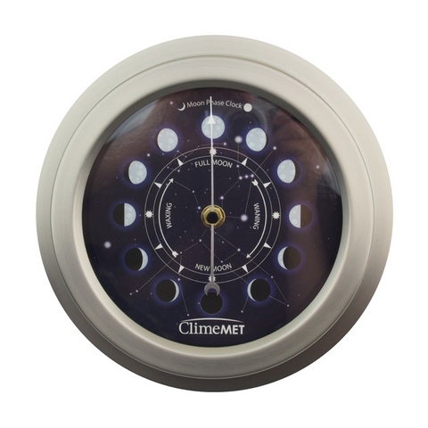 Constellations Moon Phase Clock CM4620