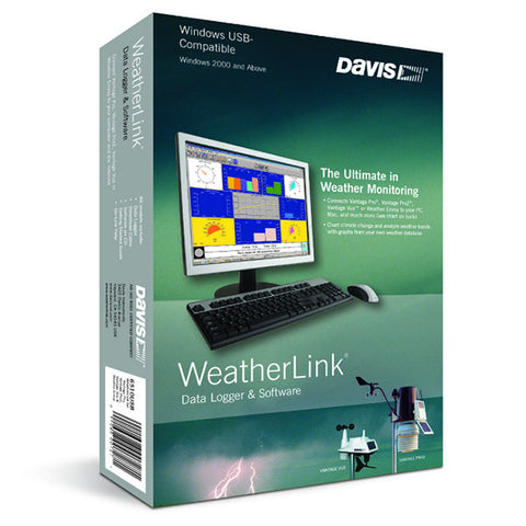 WeatherLink Datalogger & Software 6510/6520