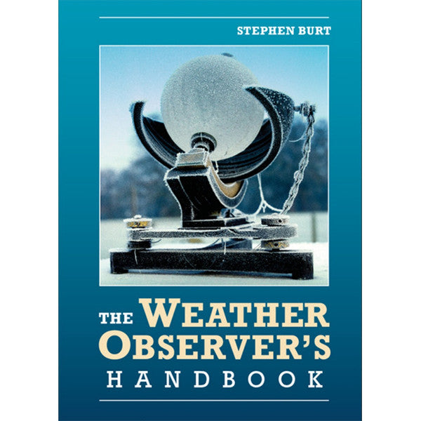 The Weather Observer's Handbook - Stephen Burt ISBN-2285