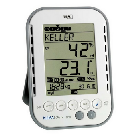 Klimalogg Pro Temperature Humidity Logger TFA-303039