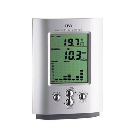 Monsoon Wireless Rain Monitor TFA-47.3003