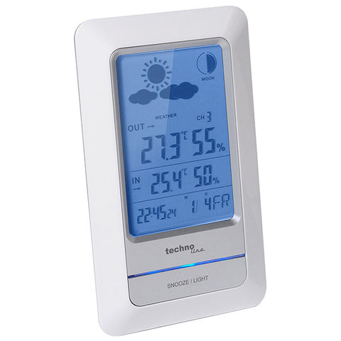 Temperature Station with Moon Phase WS6740