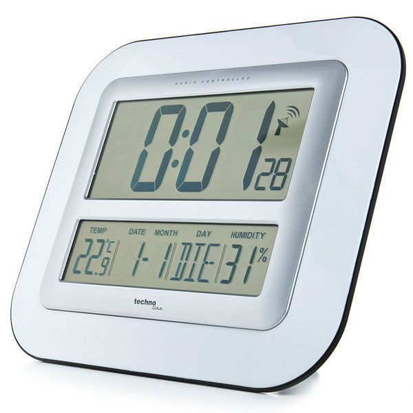 Wall Clock With Temperature Amp Humidity Ws8006 Skyview