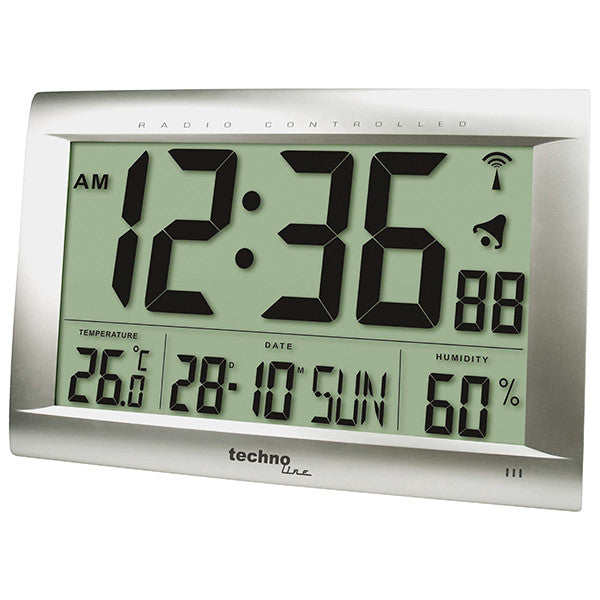 extra large atomic wall clock ws8009
